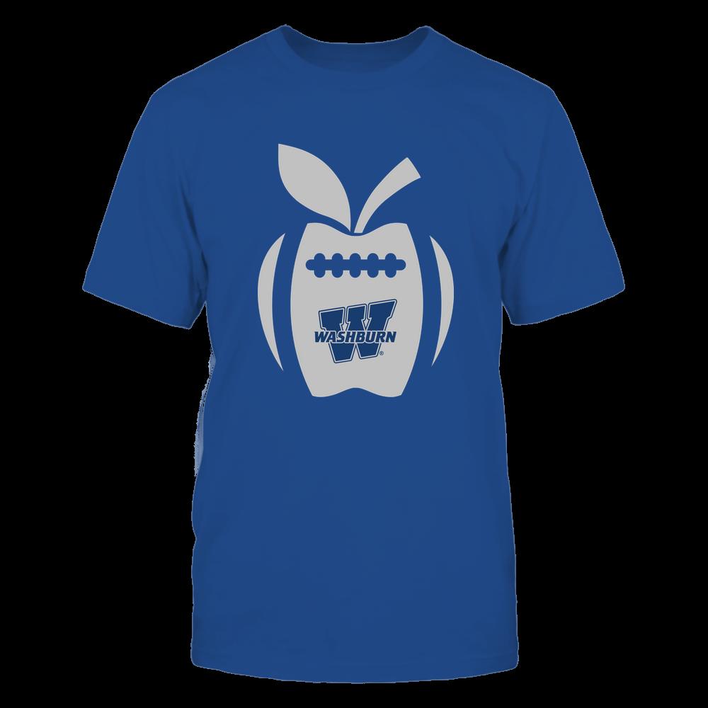 Washburn Ichabods - Teacher - Apple Football Line Front picture
