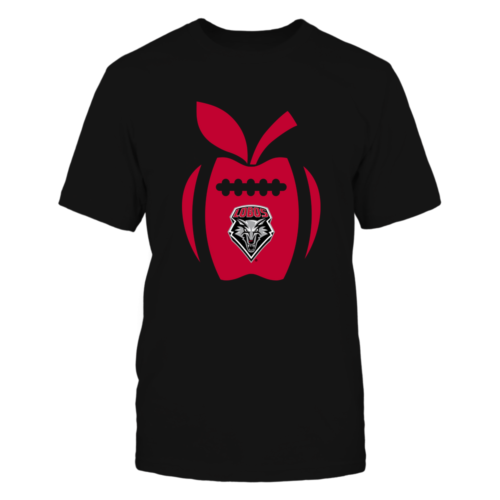 New Mexico Lobos - Teacher - Apple Football Line Front picture