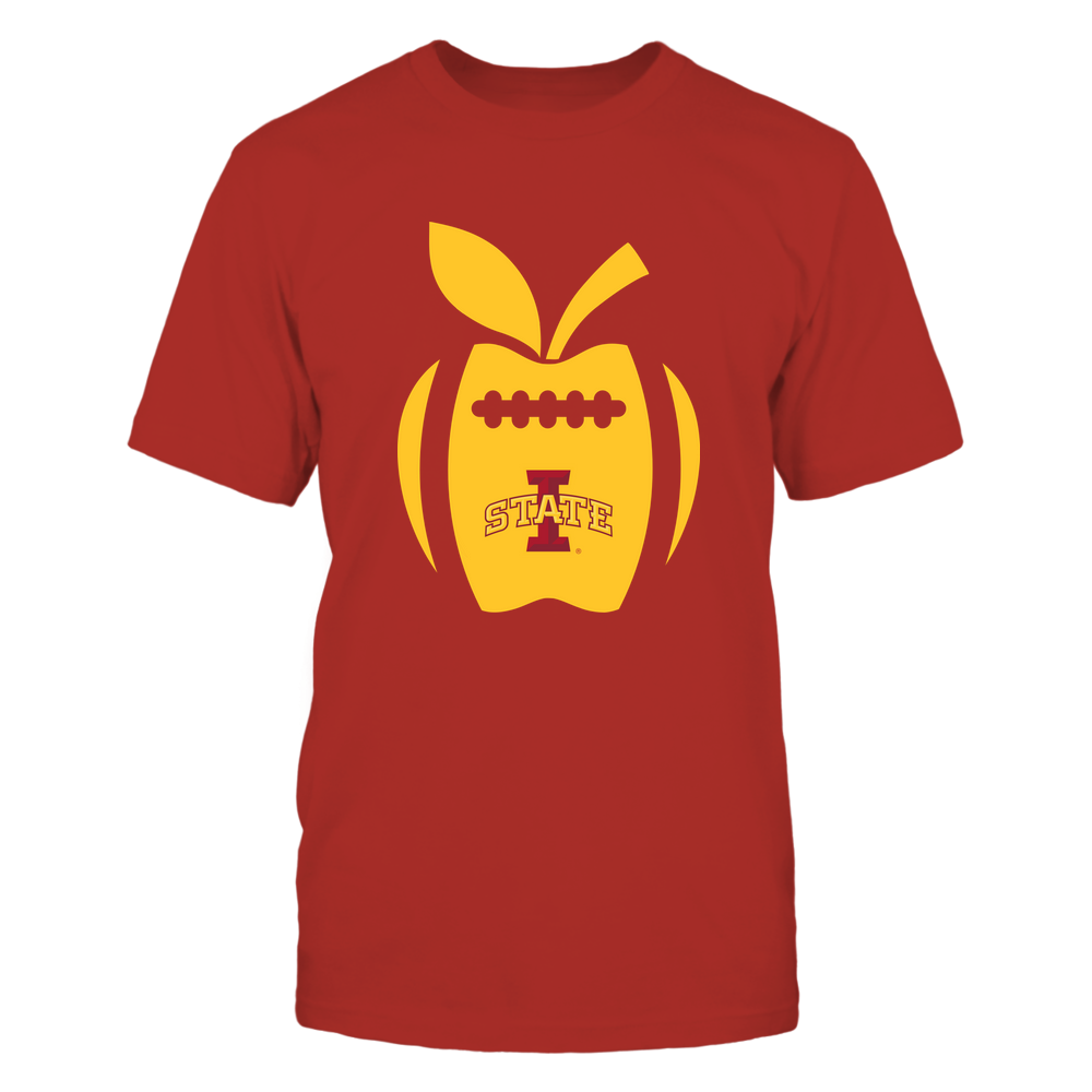 Iowa State Cyclones - Teacher - Apple Football Line Front picture