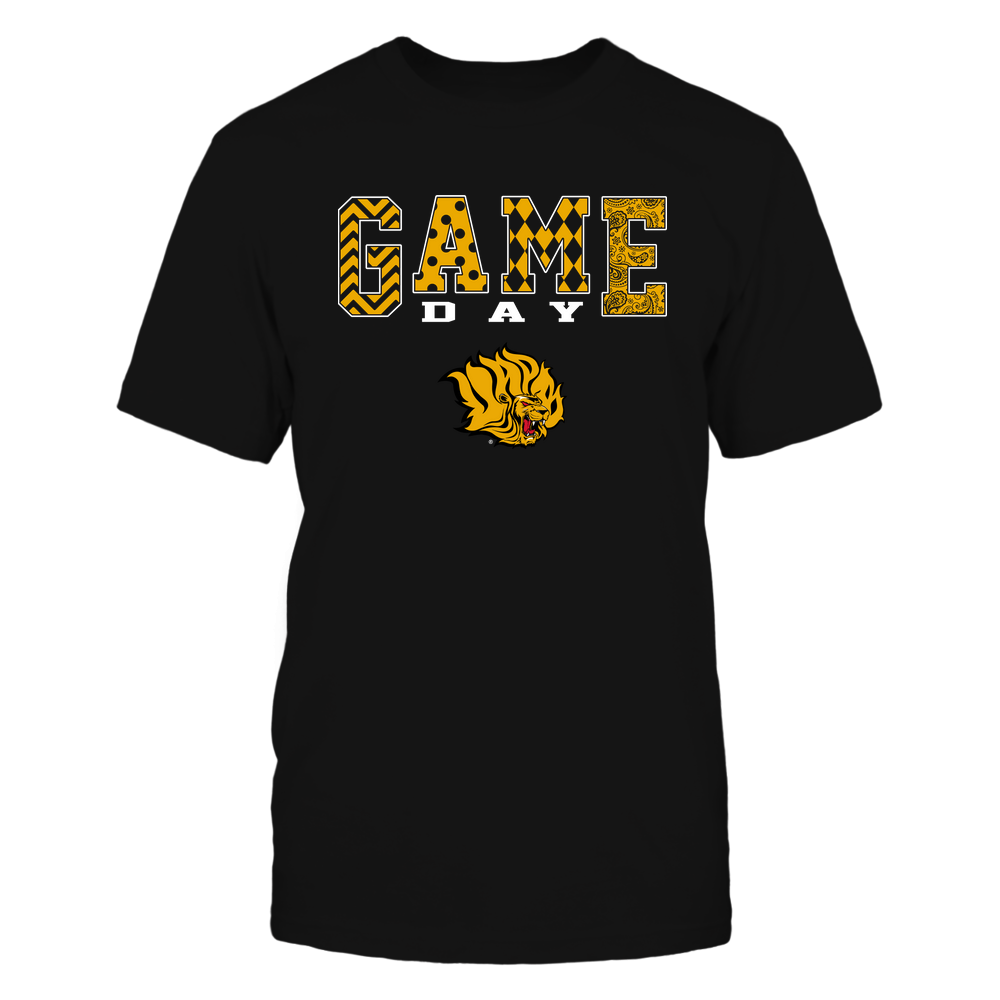 Arkansas Pine Bluff Golden Lions - Game Day - Pattern Front picture