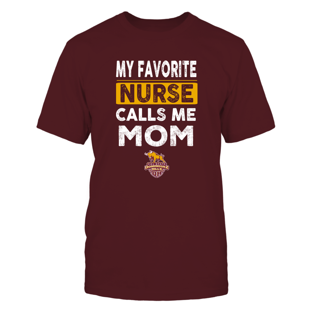 Cal State Dominguez Hills Toros - My Favorite Nurse - Mom Front picture