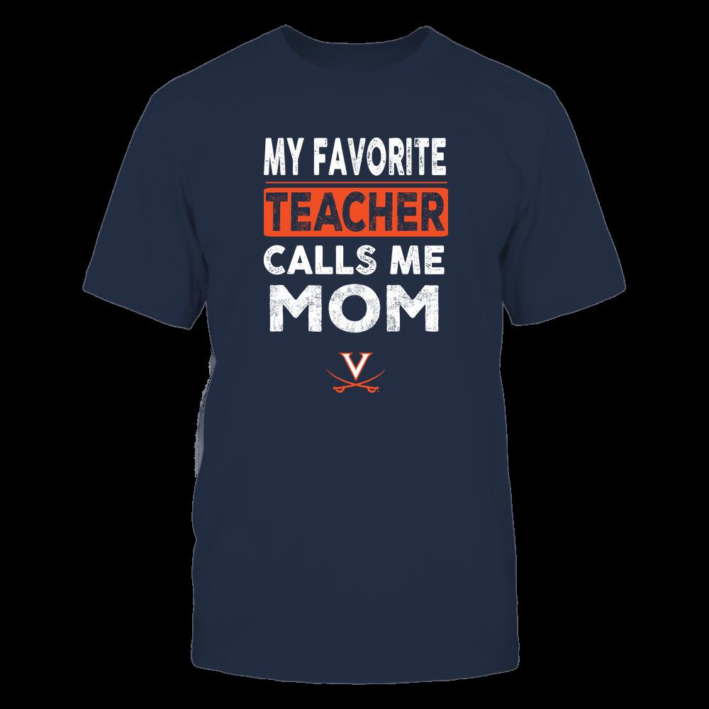 Virginia Cavaliers - My Favorite Teacher - Mom Front picture