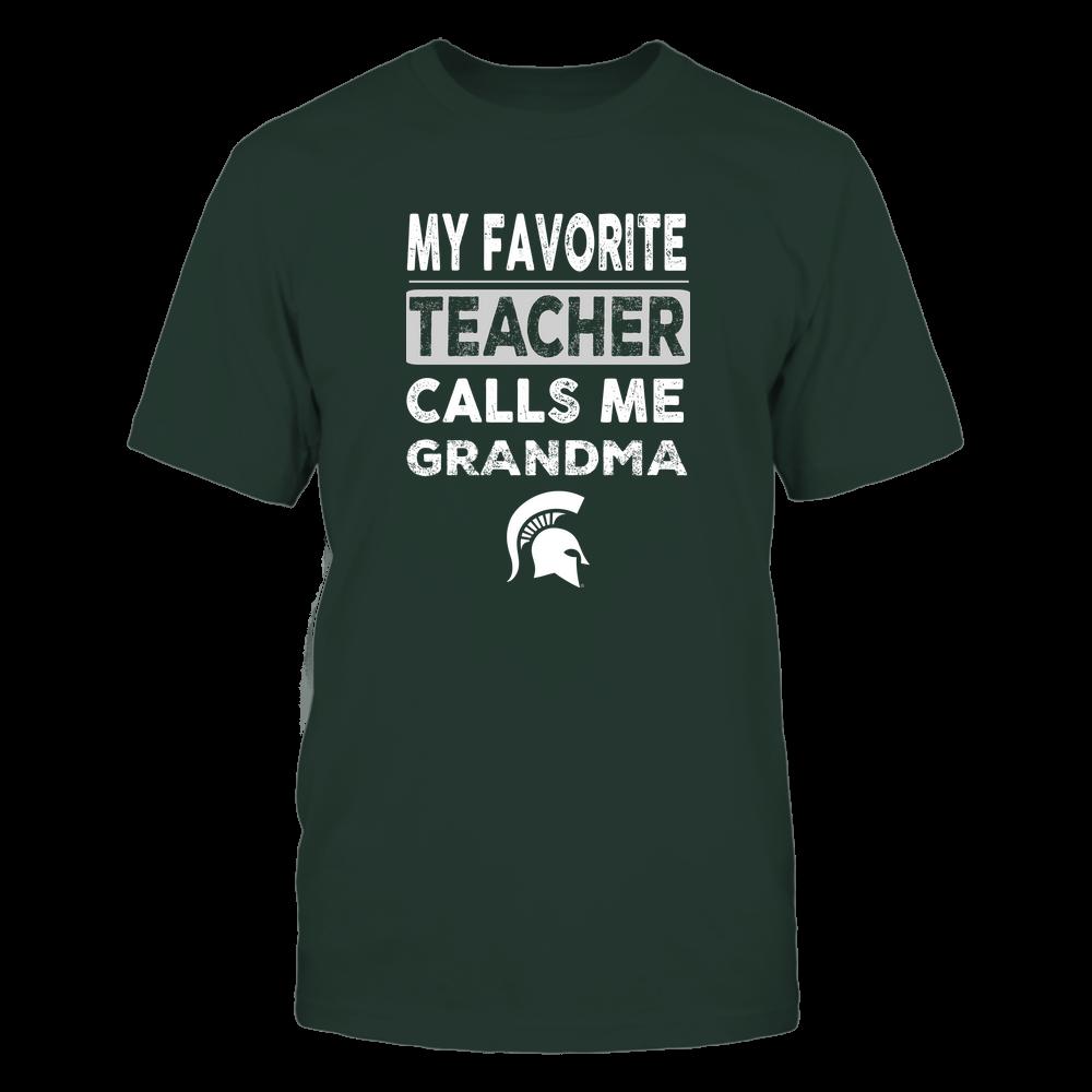 Michigan State Spartans - My Favorite Teacher - Grandma Front picture
