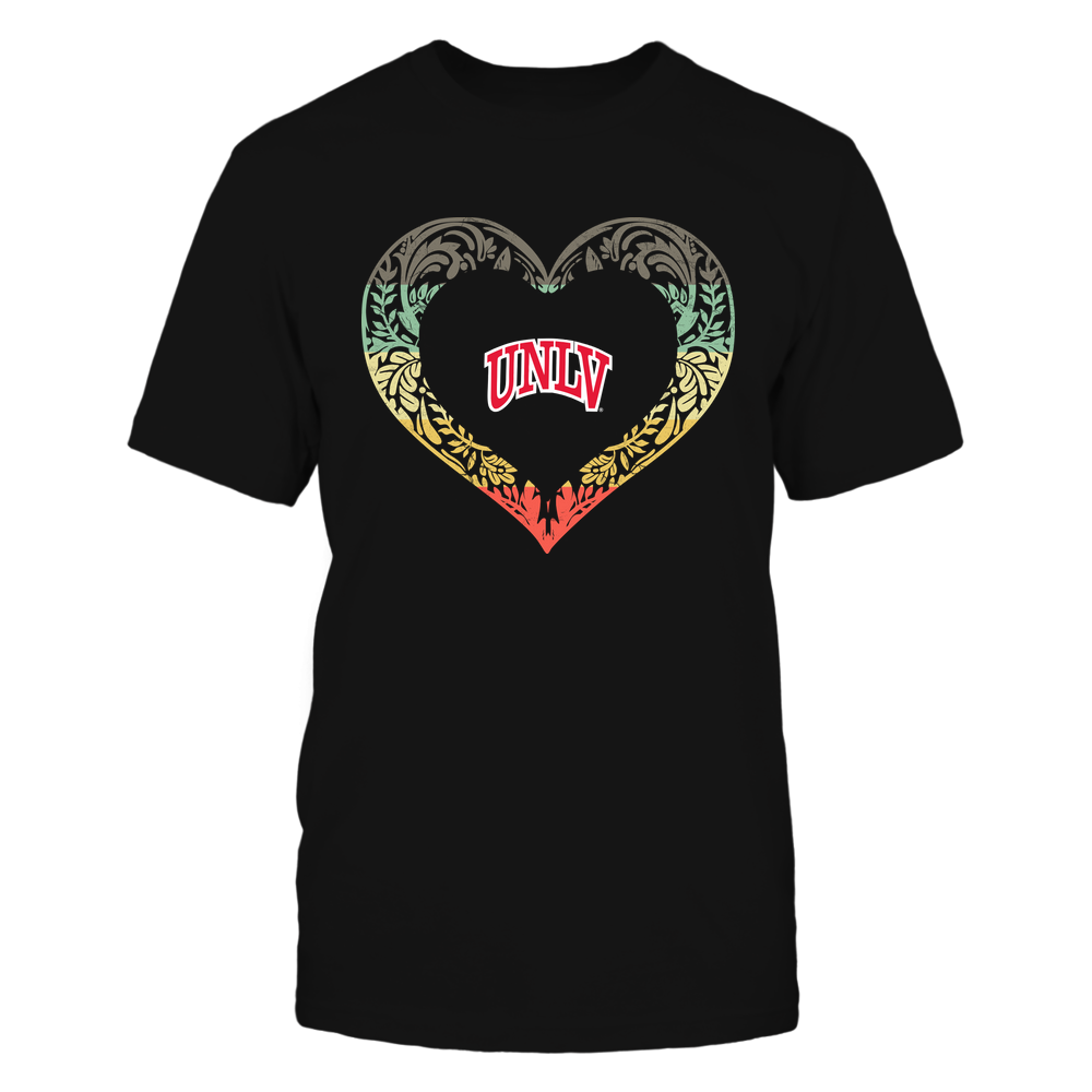UNLV Rebels - Pattern Heart - Vintage Graphic Front picture