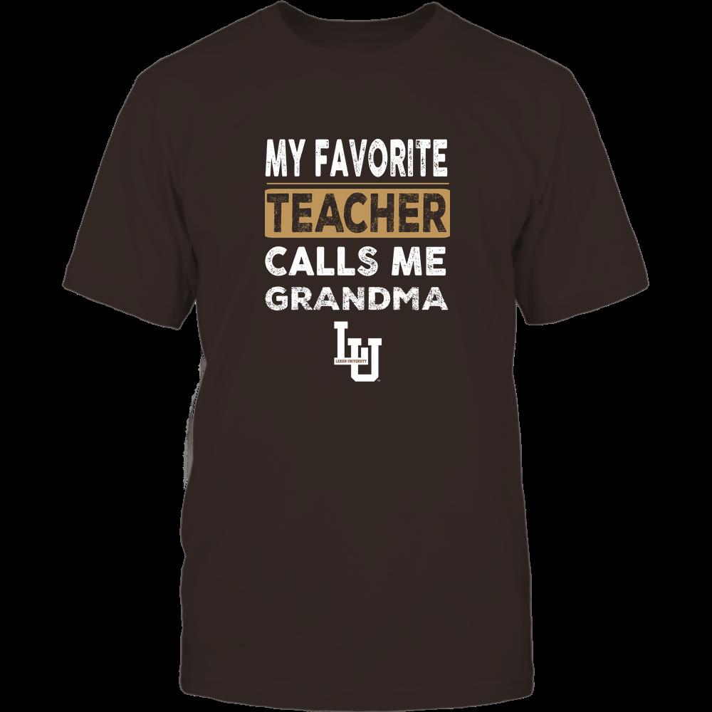 Lehigh Mountain Hawks - My Favorite Teacher - Grandma Front picture