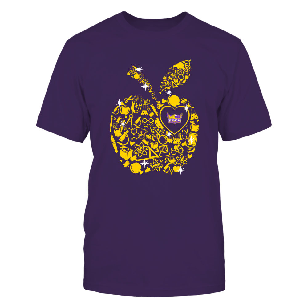 Tennessee Tech Golden Eagles - Teacher Things Inside Apple - Solid Front picture