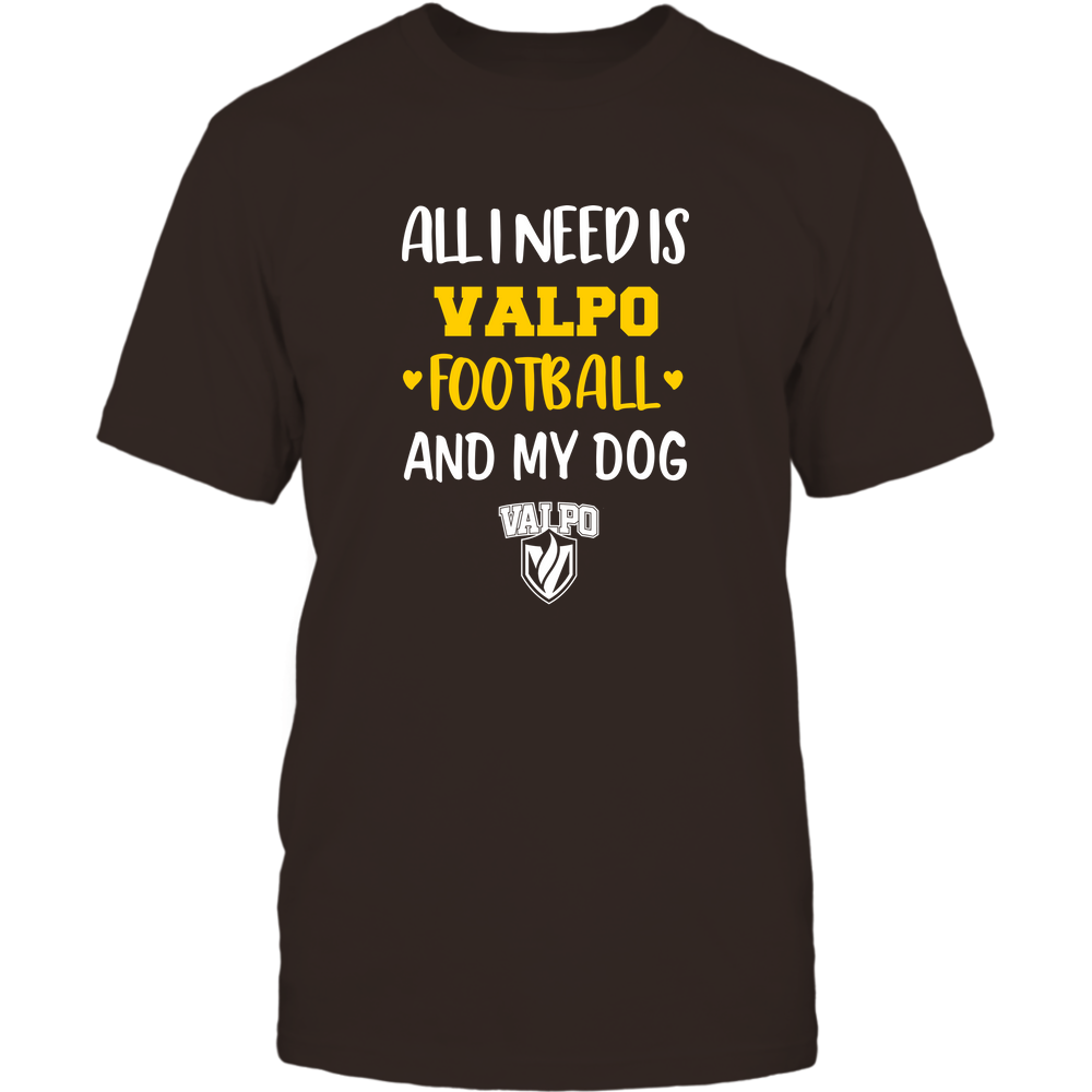 Valparaiso Crusaders - All I Need - Football and Dog Front picture