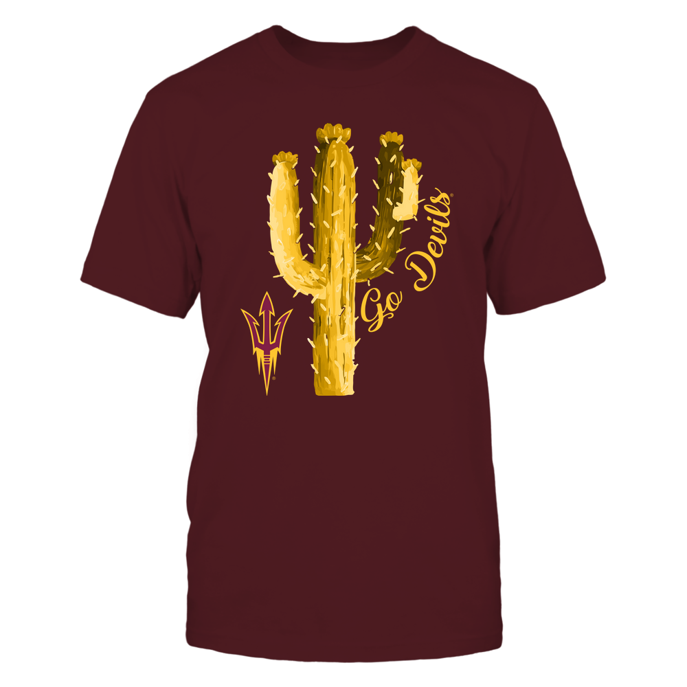 Arizona State Sun Devils - Beautiful Cactus - IF17-IC17-DS64 Front picture