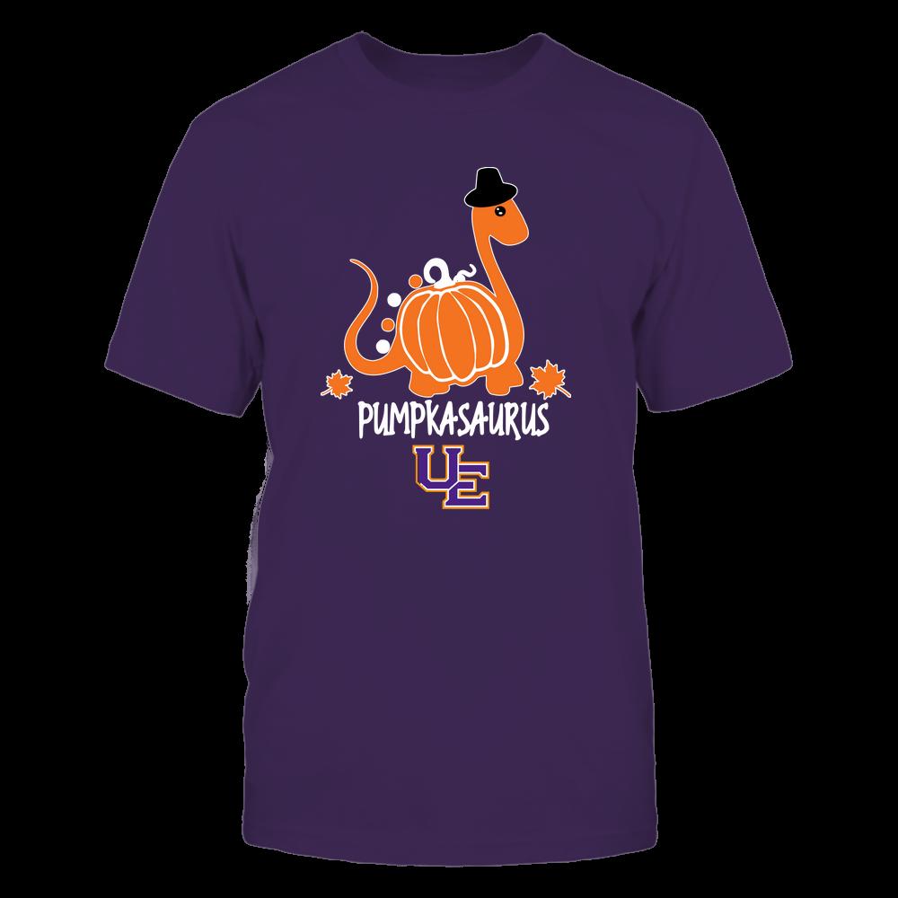 Evansville Purple Aces - Pumpkasaurus - Team Front picture