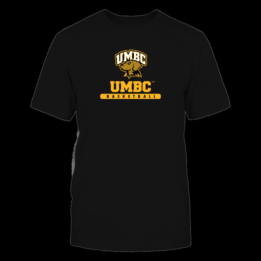 UMBC Retrievers - School - Logo - Basketball Front picture