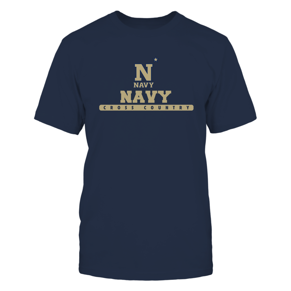 Navy Midshipmen - School - Logo - Cross Country Front picture