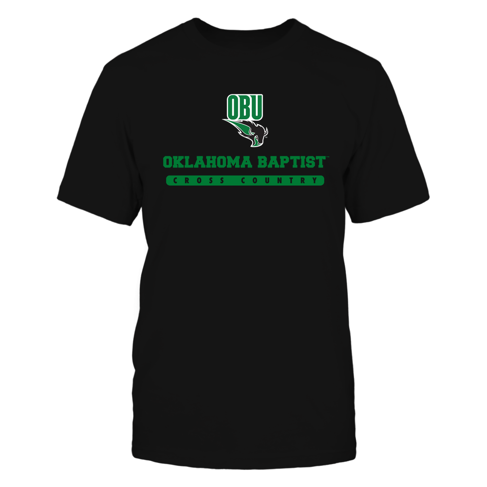 Oklahoma Baptist Bison - School - Logo - Cross Country Front picture