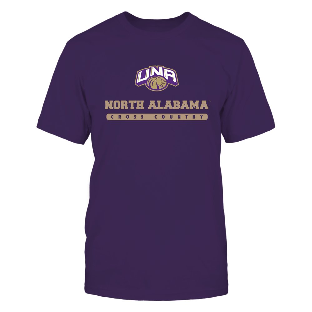 North Alabama Lions - School - Logo - Cross Country Front picture