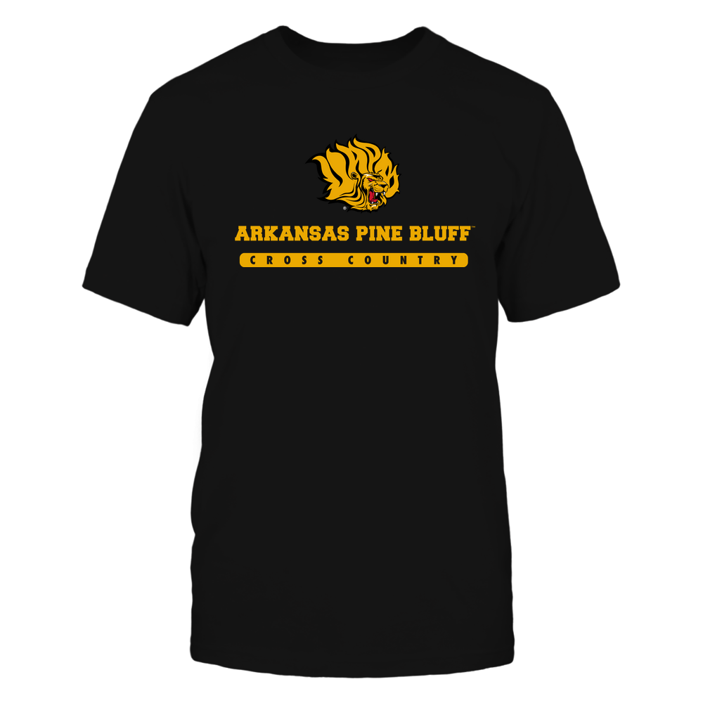 Arkansas Pine Bluff Golden Lions - School - Logo - Cross Country Front picture