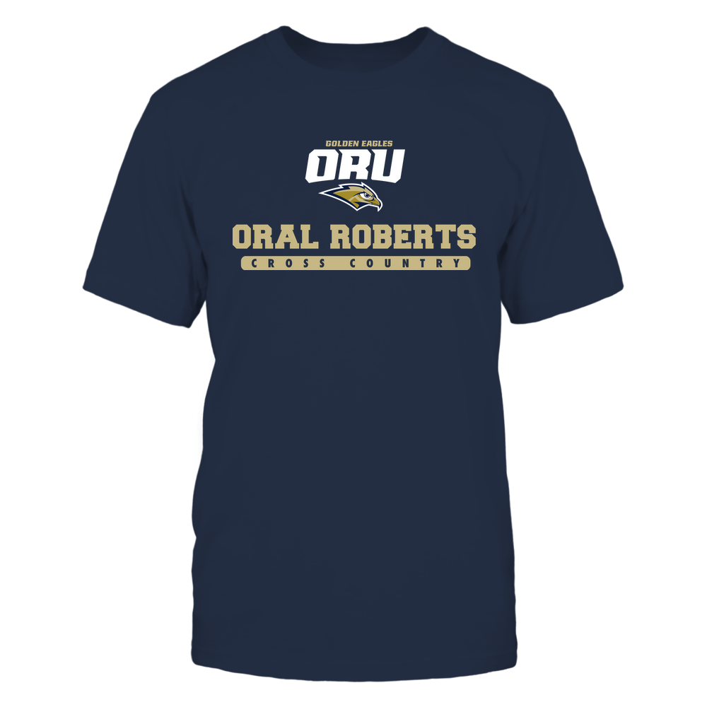 Oral Roberts Golden Eagles - School - Logo - Cross Country Front picture