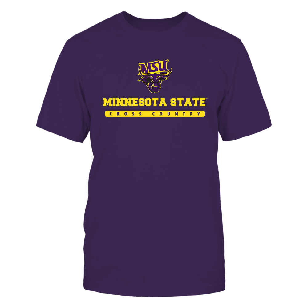 Minnesota State Mavericks - School - Logo - Cross Country Front picture