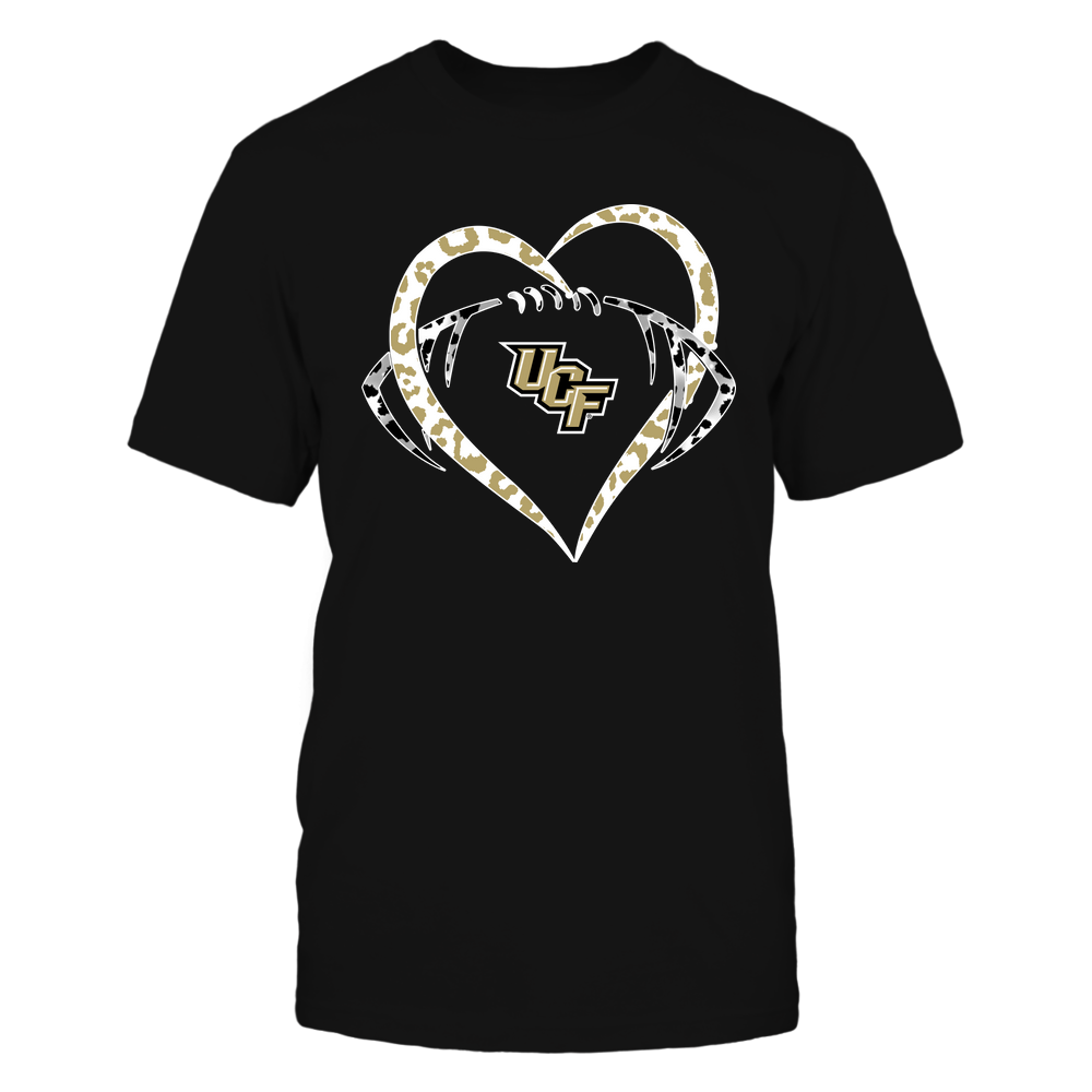 UCF Knights - Leopard Heart - Football - Team Front picture