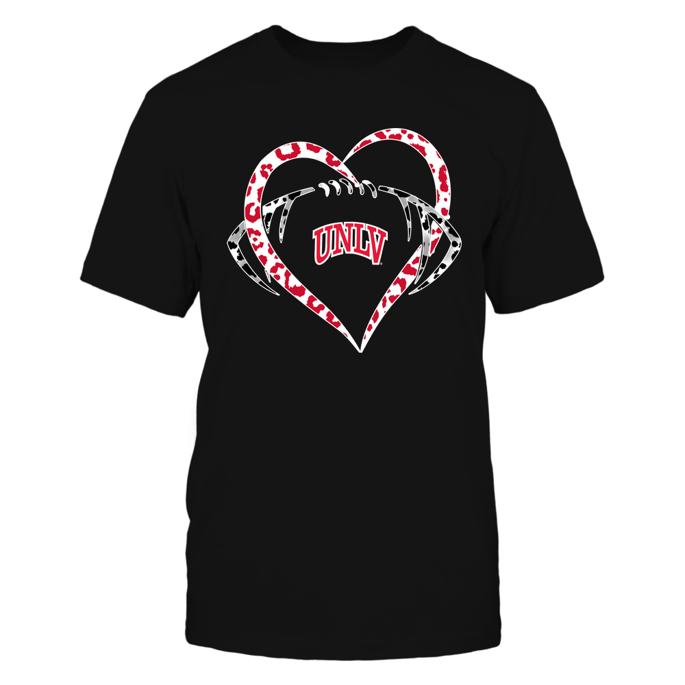UNLV Rebels - Leopard Heart - Football - Team Front picture