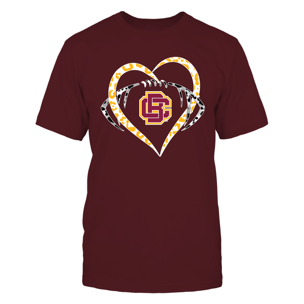 Bethune-Cookman Wildcats - Leopard Heart - Football - Team Front picture