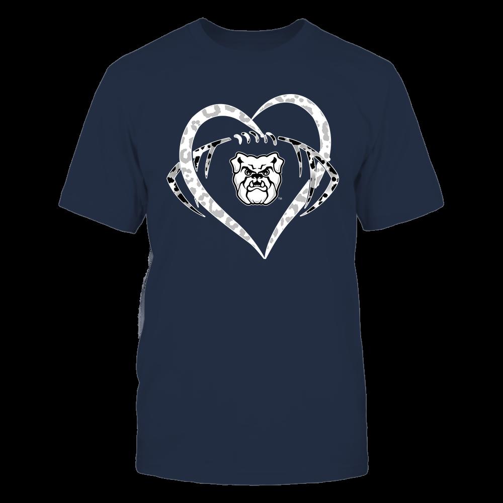 Butler Bulldogs - Leopard Heart - Football - Team Front picture