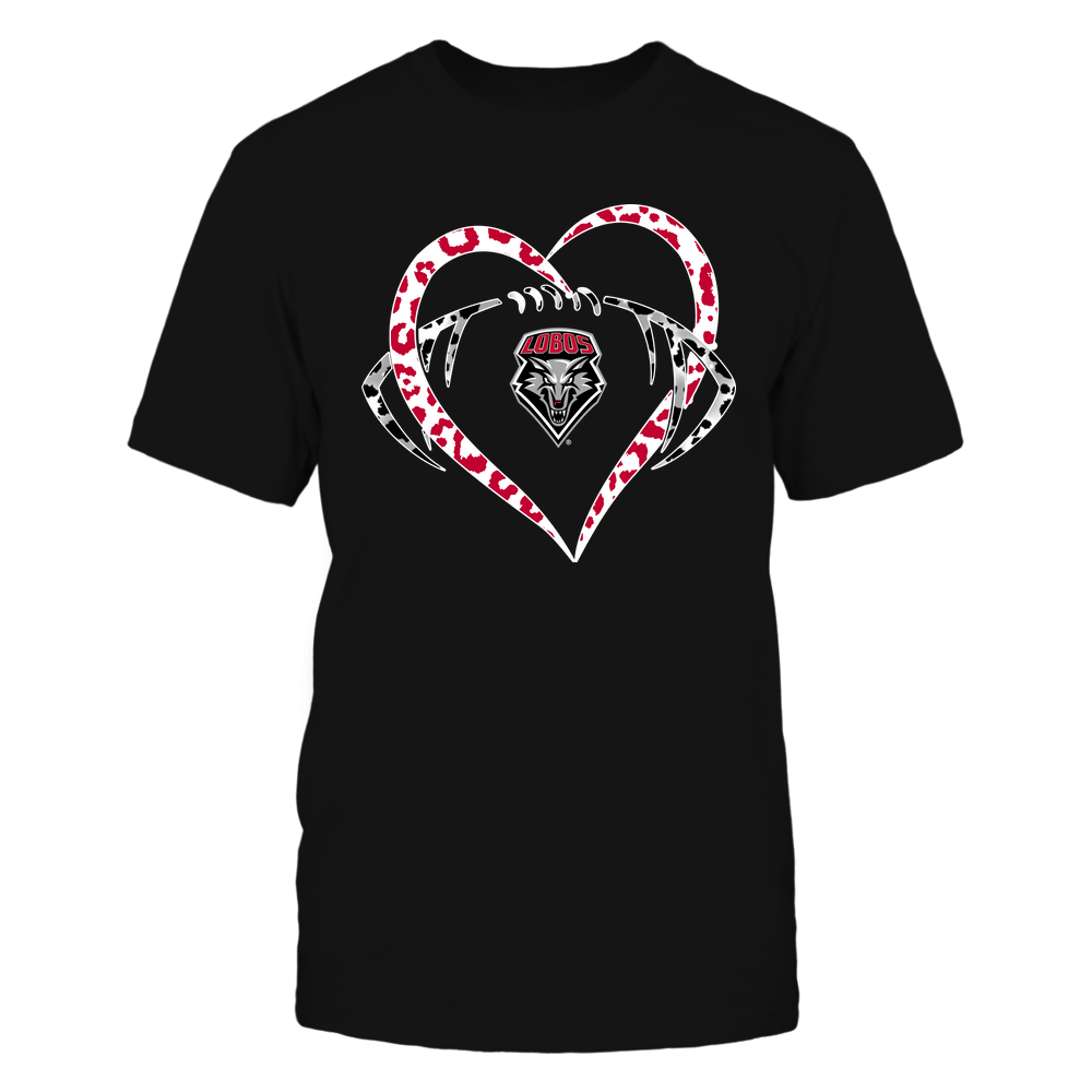 New Mexico Lobos - Leopard Heart - Football - Team Front picture