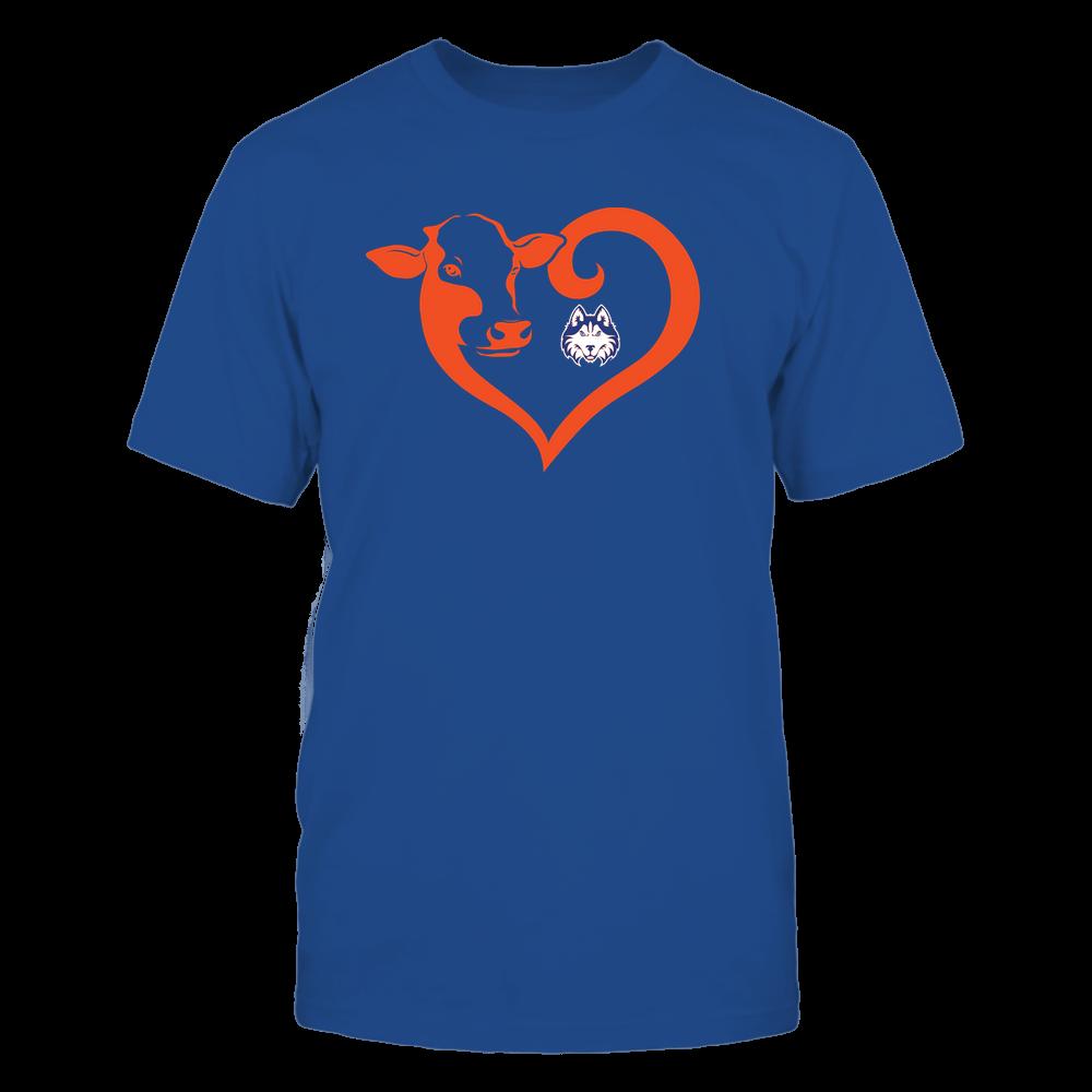 Houston Baptist Huskies - Cow Heart - Team Front picture