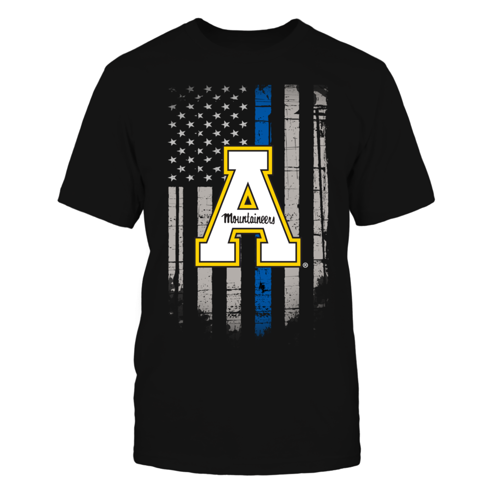 Thin Blue Line - Appalachian State Mountaineers Front picture