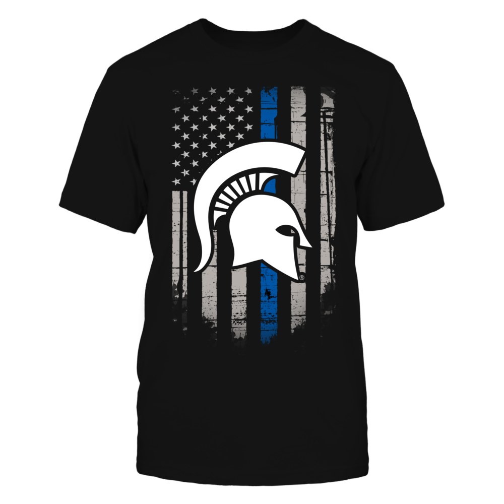 Thin Blue Line - Michigan State Spartans Front picture