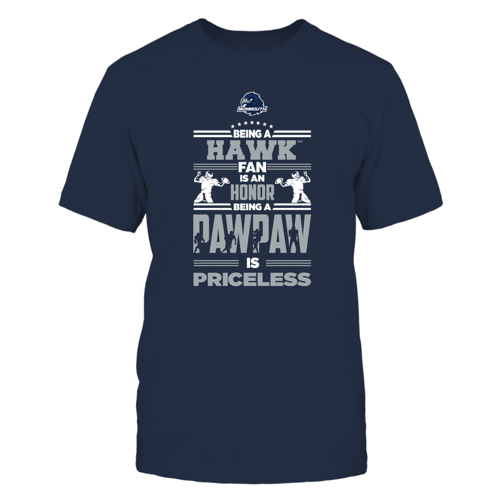 Monmouth Hawks - Being a Pawpaw Is Priceless - Team Front picture
