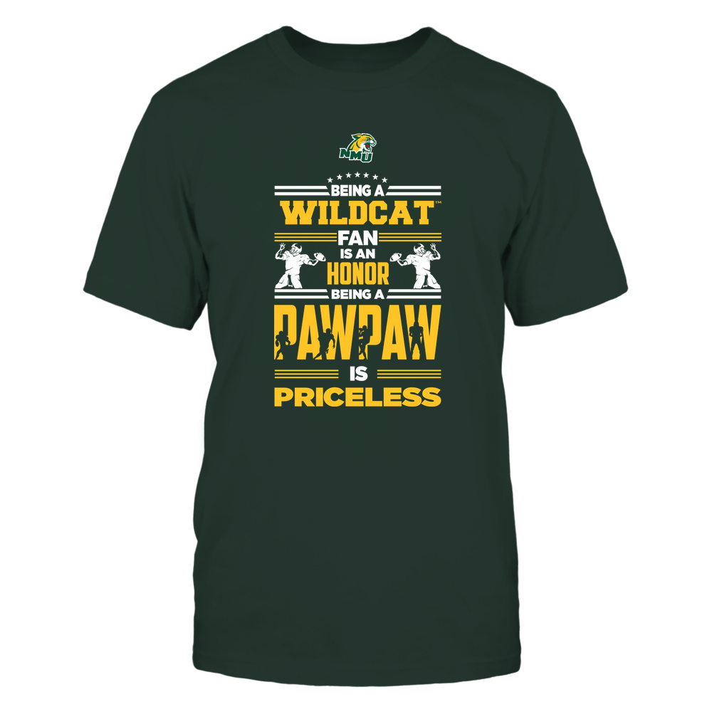 Northern Michigan Wildcats - Being a Pawpaw Is Priceless - Team Front picture