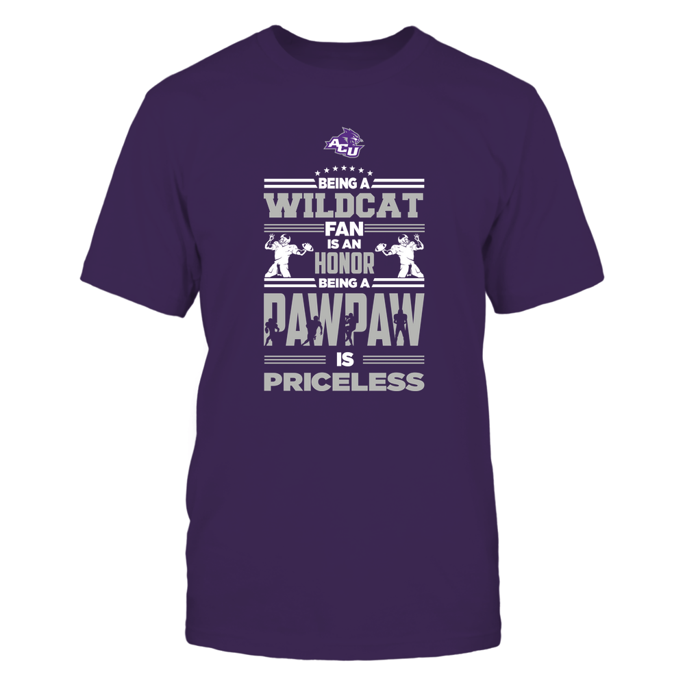Abilene Christian Wildcats - Being a Pawpaw Is Priceless - Team Front picture