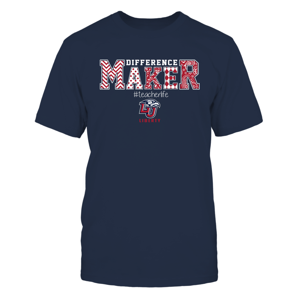 Liberty Flames - Teacher - Difference Maker Front picture