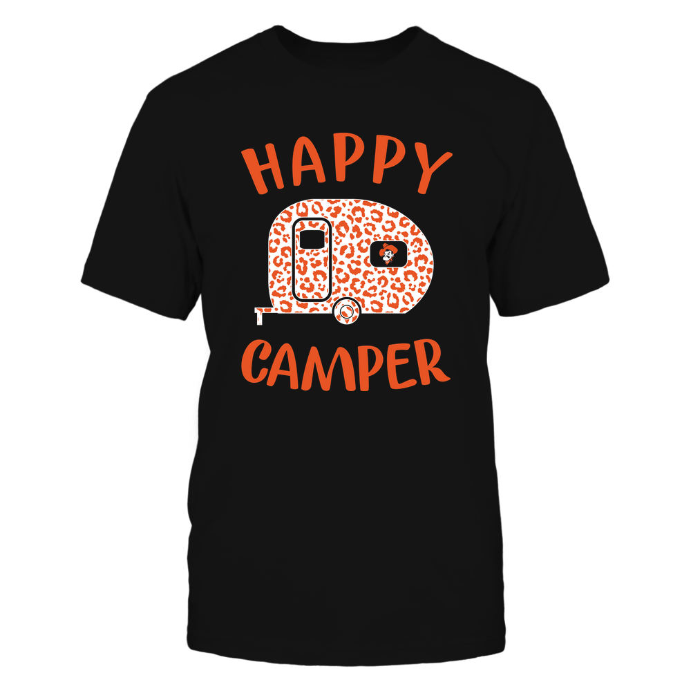 Oklahoma State Cowboys - Camping - Happy Camper Front picture