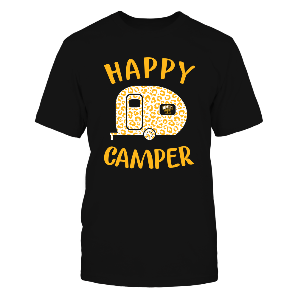 UMBC Retrievers - Camping - Happy Camper Front picture
