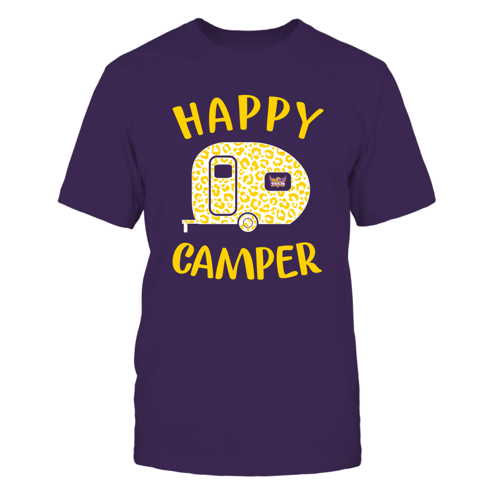 Tennessee Tech Golden Eagles - Camping - Happy Camper Front picture
