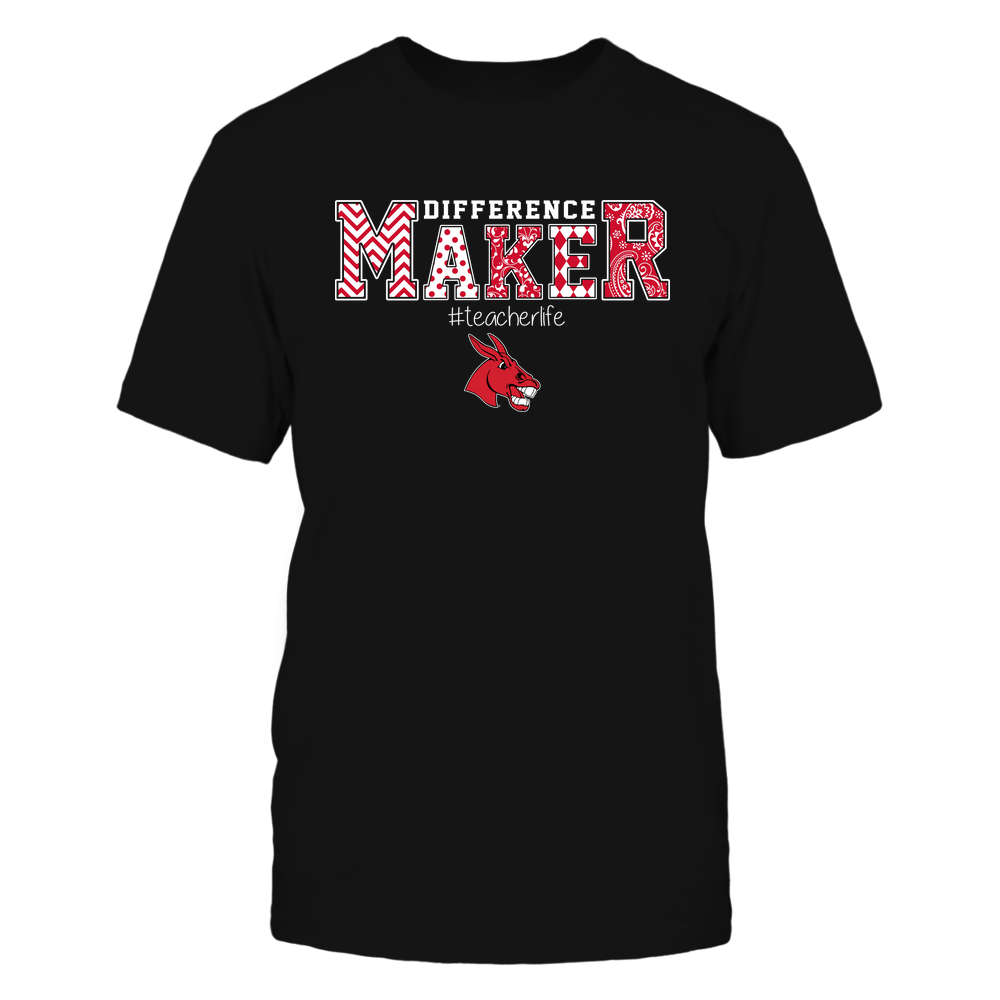 Central Missouri Mules - Teacher - Difference Maker Front picture