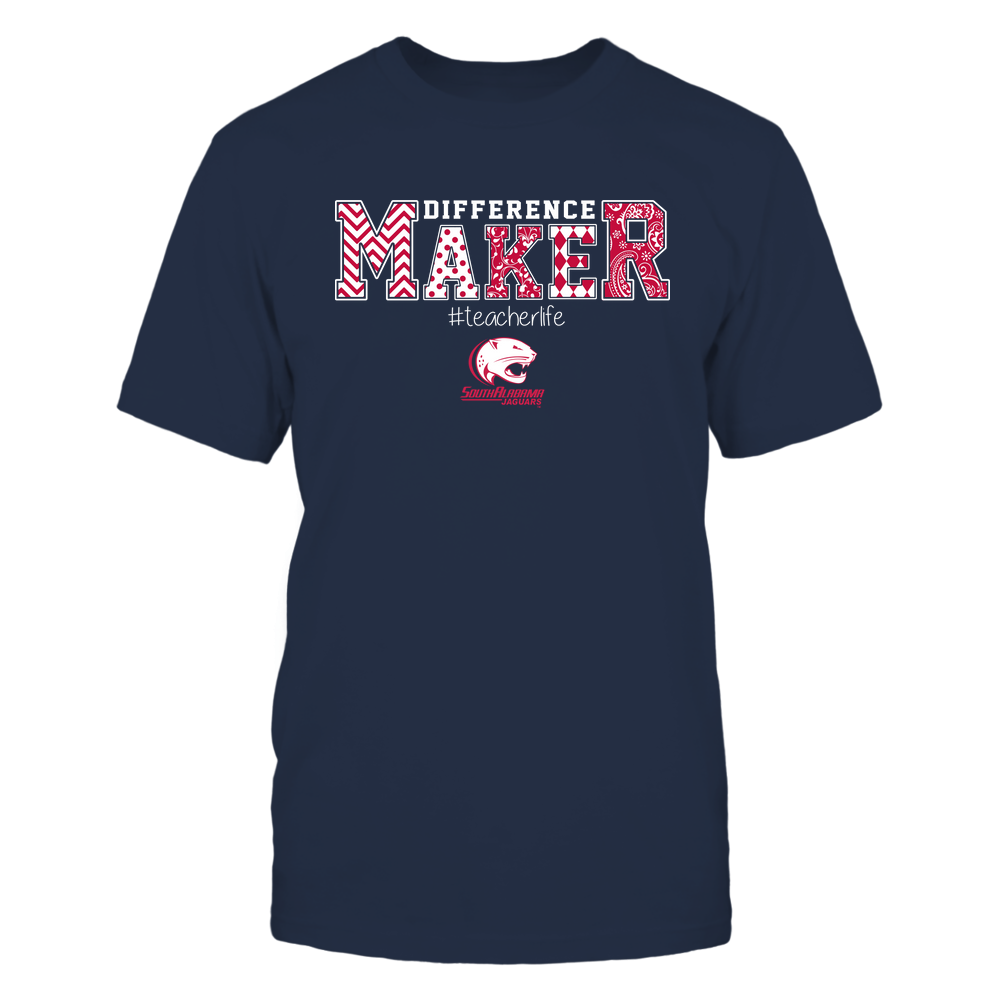 South Alabama Jaguars - Teacher - Difference Maker Front picture