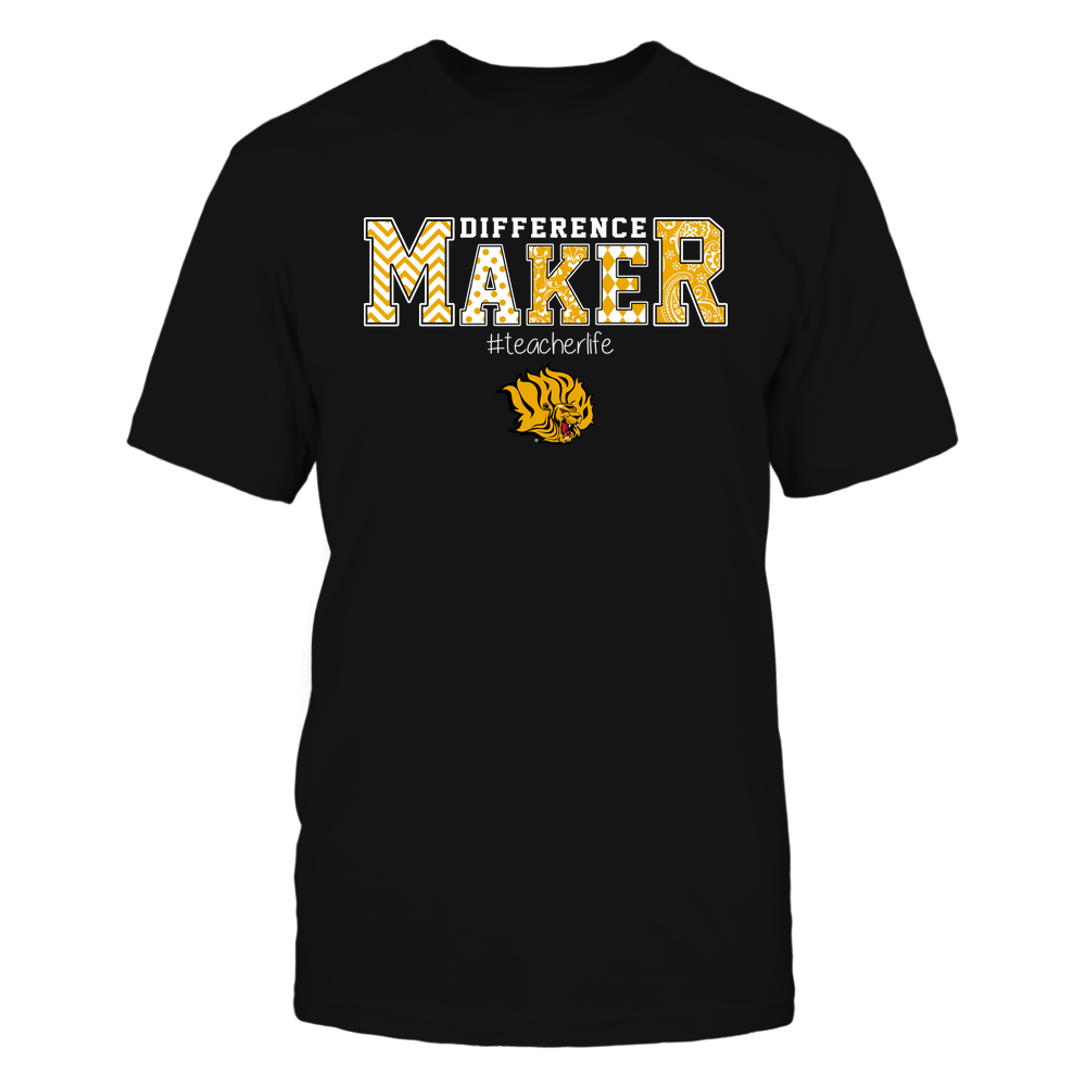 Arkansas Pine Bluff Golden Lions - Teacher - Difference Maker Front picture