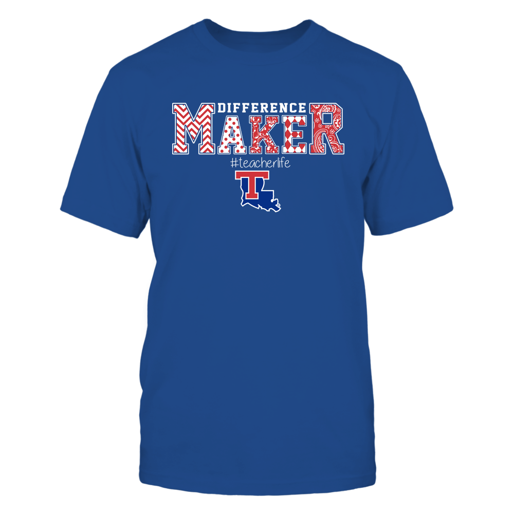 Louisiana Tech Bulldogs - Teacher - Difference Maker Front picture