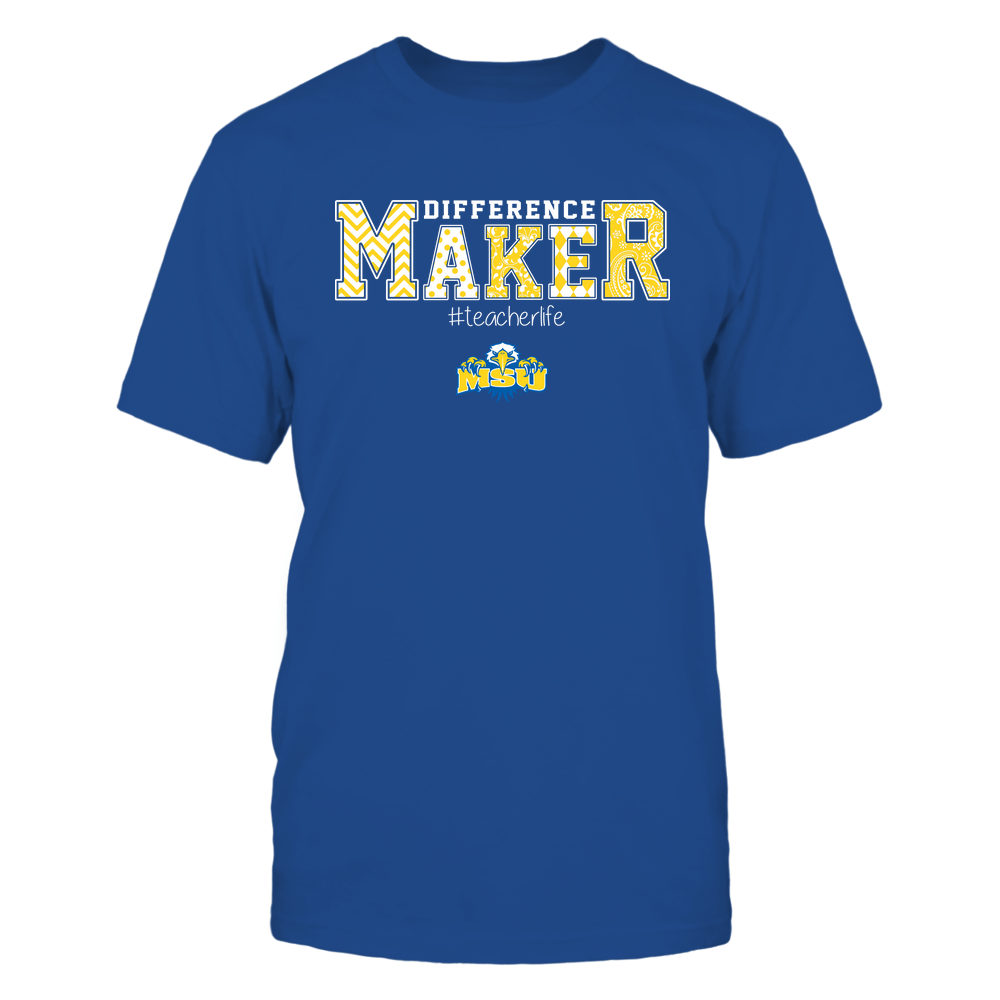 Morehead State Eagles - Teacher - Difference Maker Front picture