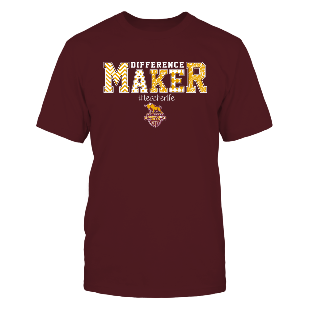 Cal State Dominguez Hills Toros - Teacher - Difference Maker Front picture