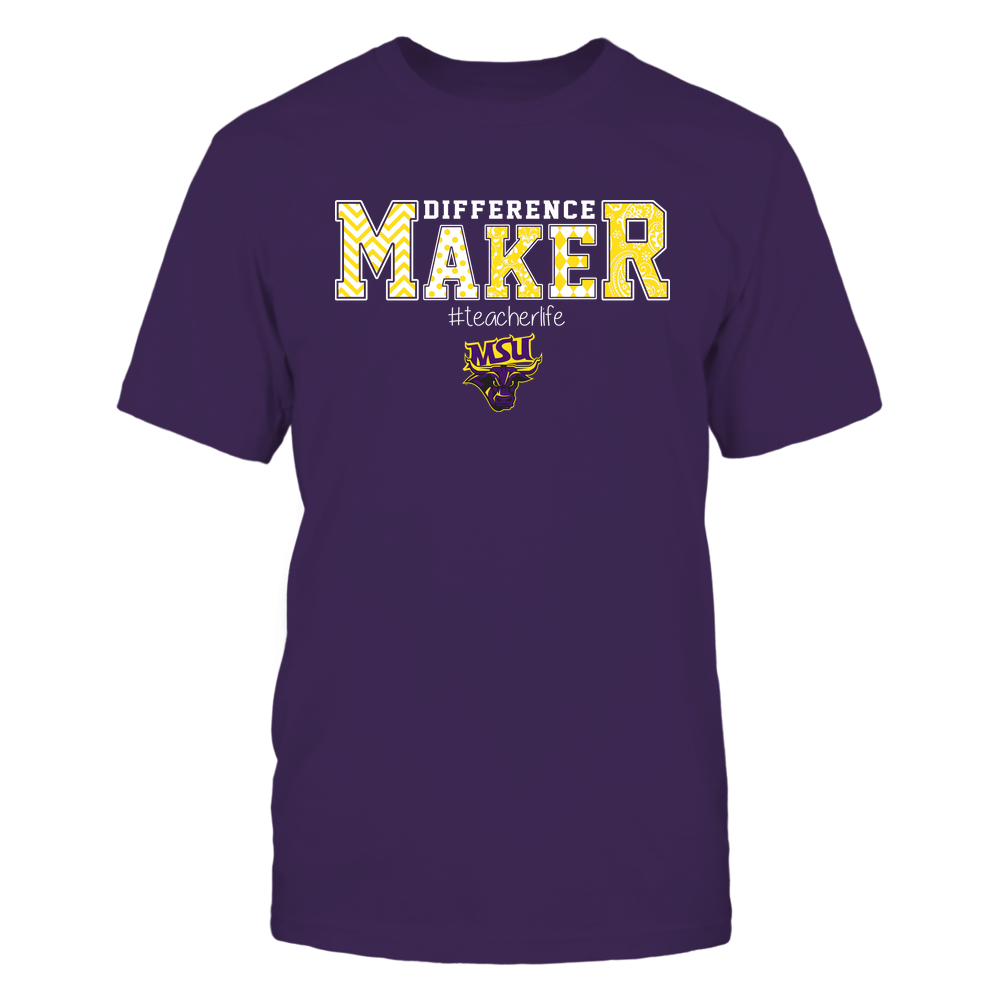 Minnesota State Mavericks - Teacher - Difference Maker Front picture
