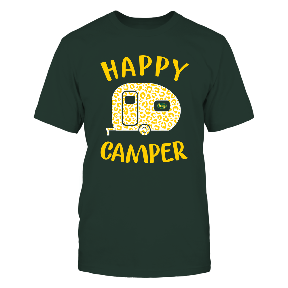 Arkansas Tech Golden Suns - Camping - Happy Camper Front picture