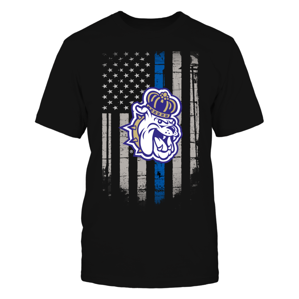 Thin Blue Line - James Madison Dukes Front picture