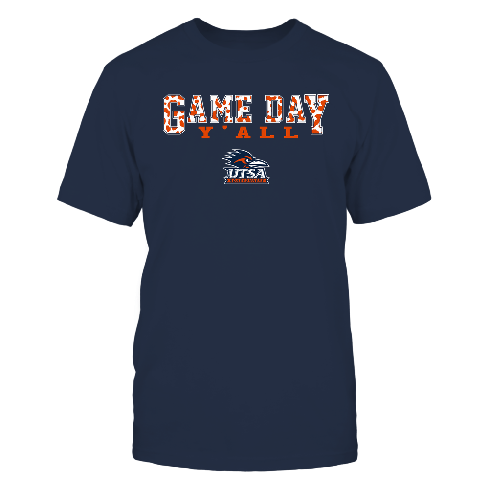 UTSA Roadrunners - Gameday Y'all - Leopard Pattern - Team Front picture