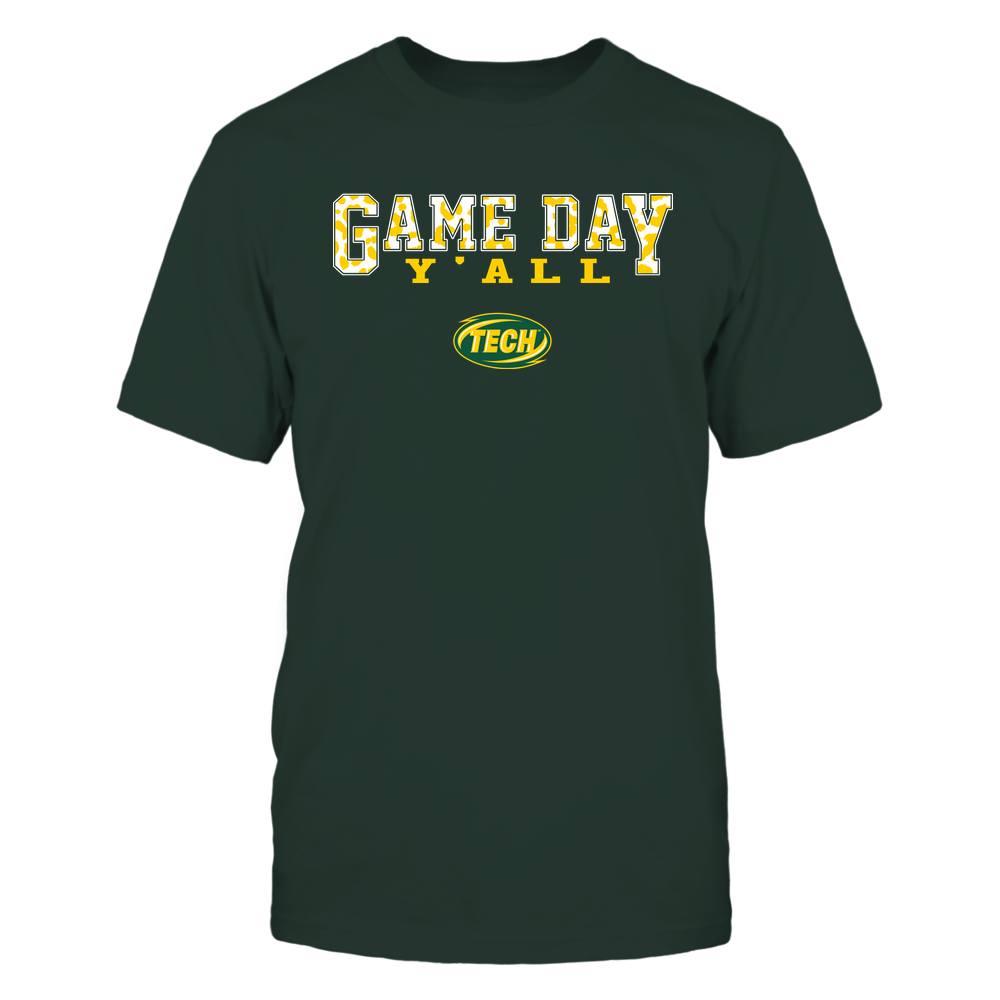 Arkansas Tech Golden Suns - Gameday Y'all - Leopard Pattern - Team Front picture