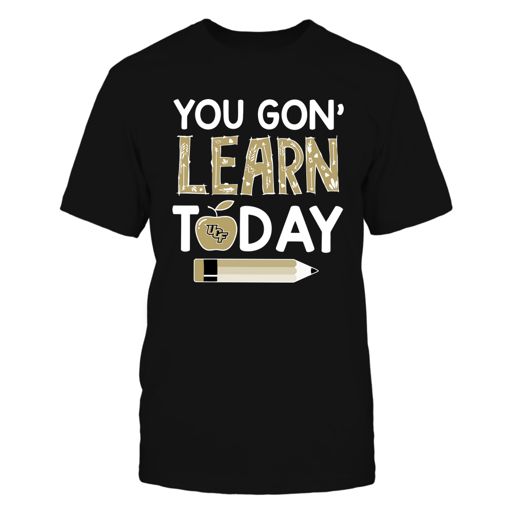 UCF Knights - Teacher - You Gon' Learn Today - Team Front picture