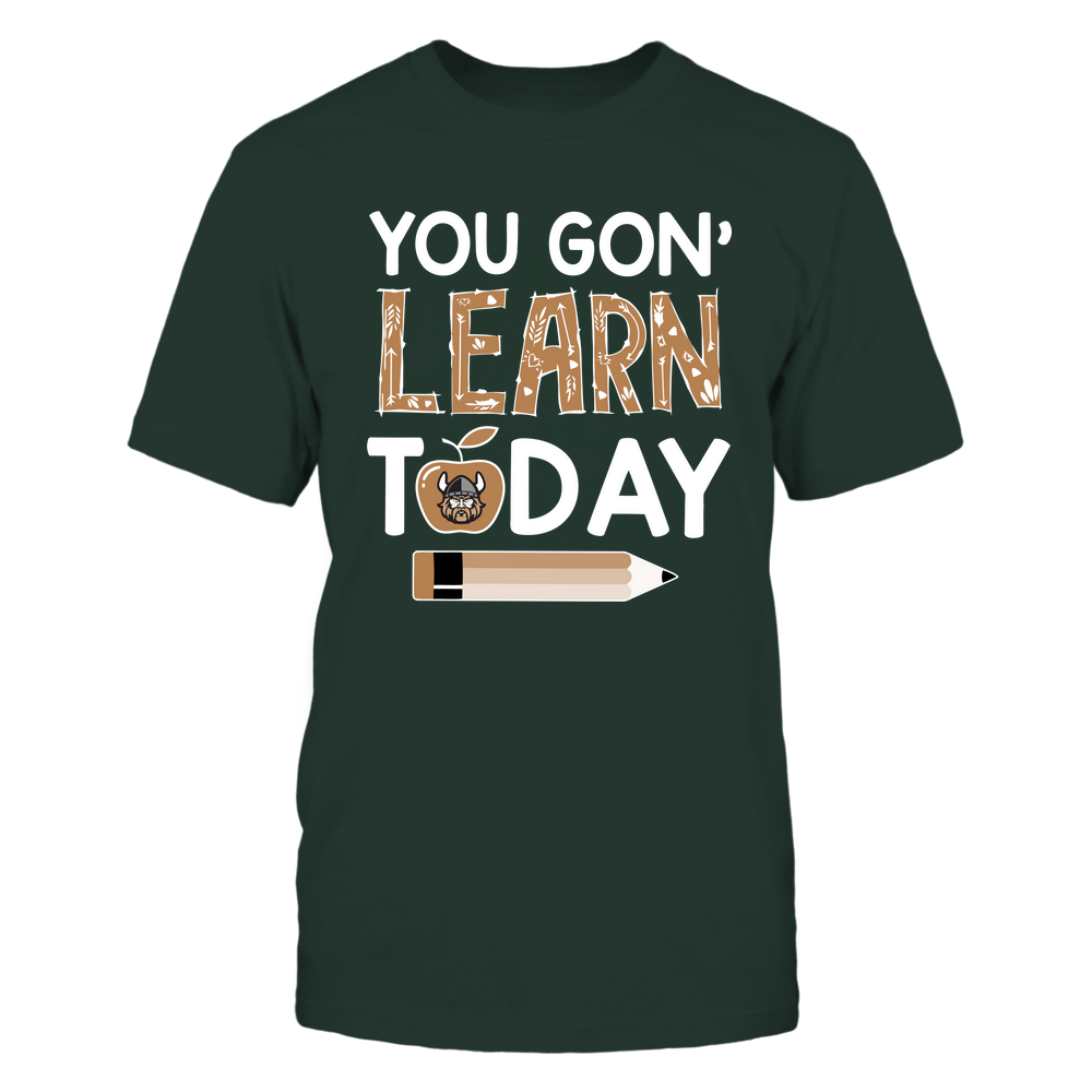 Cleveland State Vikings - Teacher - You Gon' Learn Today - Team Front picture