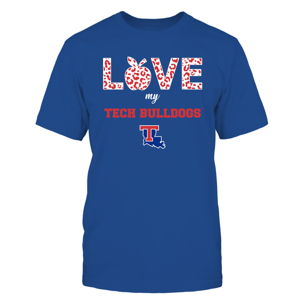 Louisiana Tech Bulldogs - Teacher - Love My Team Front picture