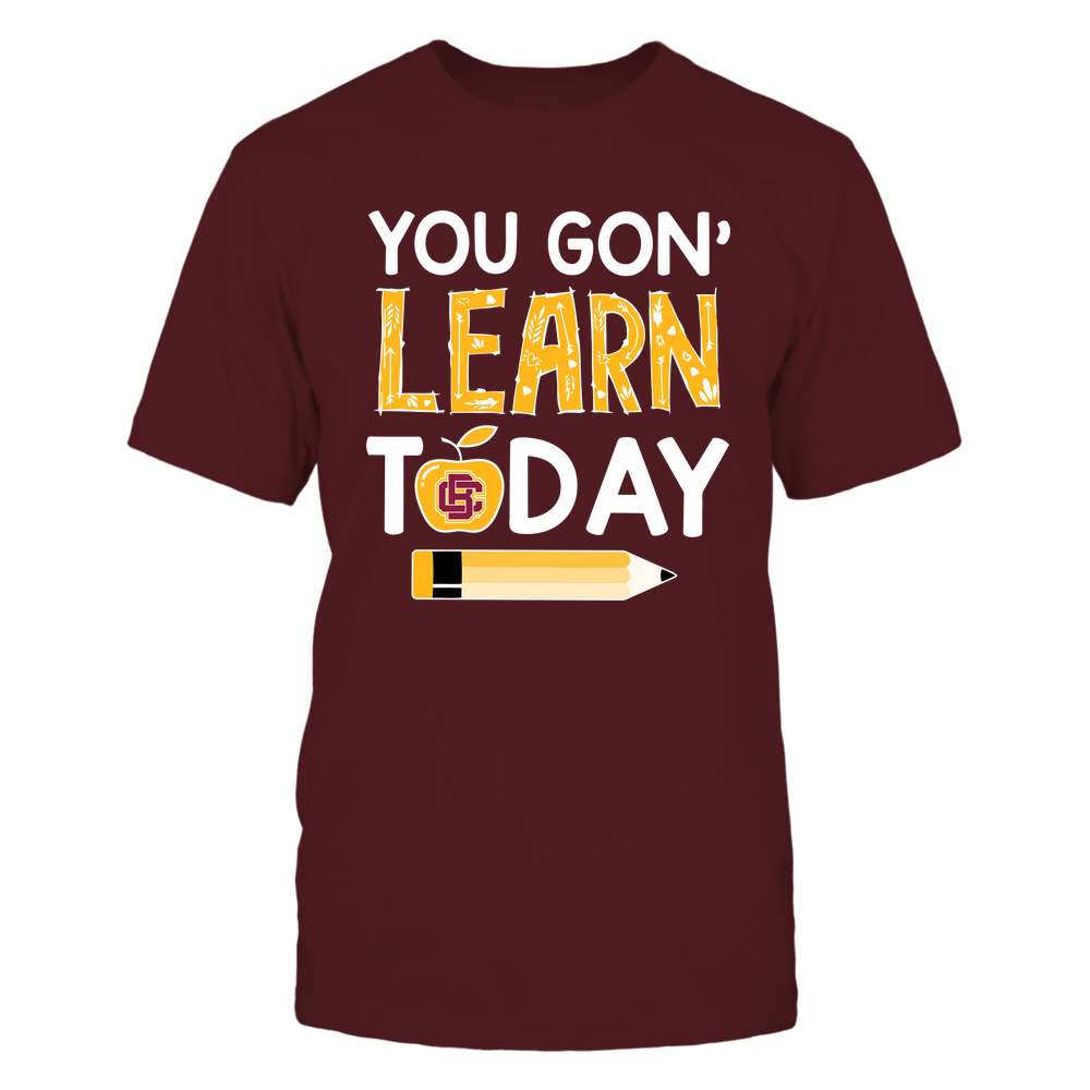 Bethune-Cookman Wildcats - Teacher - You Gon' Learn Today - Team Front picture